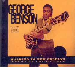 BENSON GEORGE :  WALKING TO NEW ORLEANS  (PROVOGUE)  Con il suo nuovo atteso album, Walking to New Orleans, il leggendario chitarrista jazz George Benson rende omaggio a Chuck Berry ed a Fats Domino,  due tra i pionieri del r&b e del rock and roll ed alle radici musicali americane. Da Nadine (Is It You?), a You Can not Catch Me, da Havana Moon a Memphis, Tennessee, da Rockin' Chair a Ain't That a Shame,, da I Hear You Knocking a Blue Monday per finire alla traccia che dà il titolo all'album. Walking to New Orleans è la prima registrazione di George Benson da Inspiration: A Tribute to Nat King Cole album del 2013 dove Benson aveva impreziosito le melodie di Cole con arrangiamenti orchestrali lussureggianti mentre per Walking to New Orleans Benson ha trovato un quartetto di musicisti straordinari provenienti da Nashville: il batterista e direttore musicale Greg Morrow, il chitarrista Rob McNelley, il pianista Kevin McKendree e il bassista Alison Prestwood ed Il produttore Kevin 'The Caveman' Shirley (Journey, John Hiatt, Iron Maiden) a dirigere il tutto.